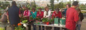 Continúa la colaboración con ATADES en su centro de Huesca