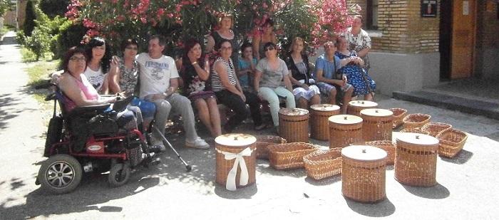 Proyecto de colaboración con ASPACE-HUESCA a través de sus charlas y cursos de cestería