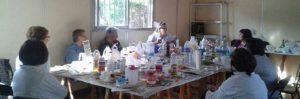 Finaliza el Taller de elaboración de jabones en Monzón