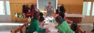 Taller de Reciclaje para niños en Frula