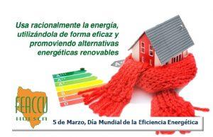 5 de marzo. Día Mundial de la Eficiencia Energética
