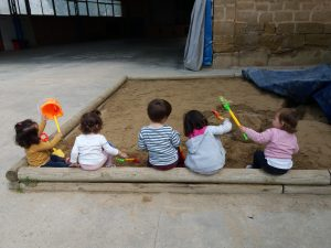 Los pequeños comienzan en la Casa Canguro