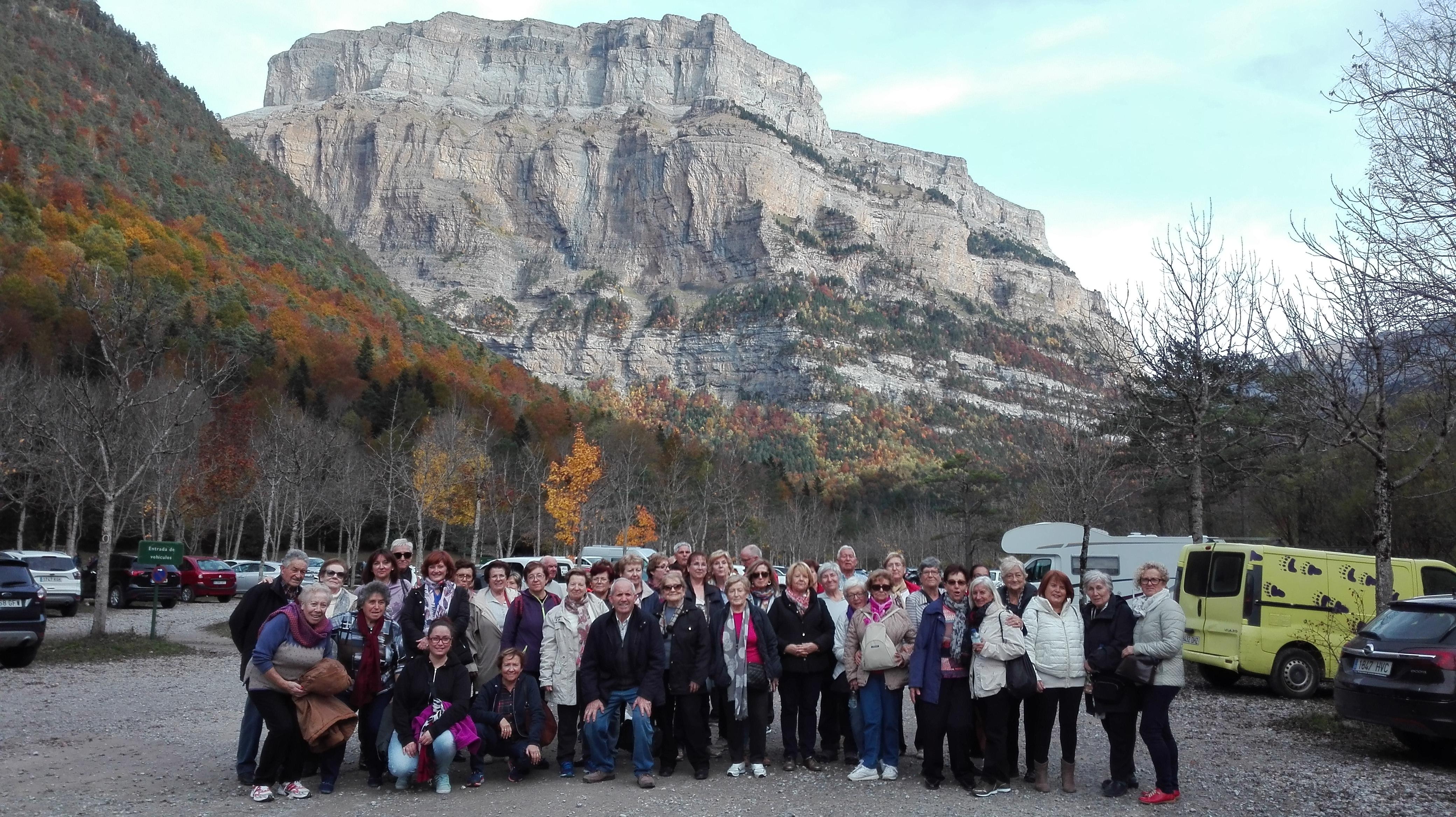 Las asociaciones de la Hoya de Huesca participan en una visita técnica al Parque Nacional de Ordesa y Monte Perdido
