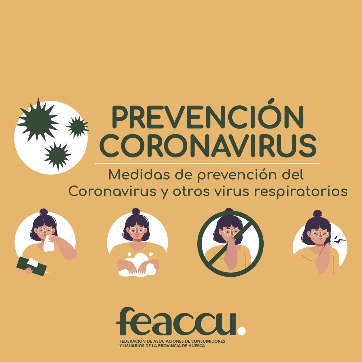 Medidas de prevención para hacer frente al COVID-19