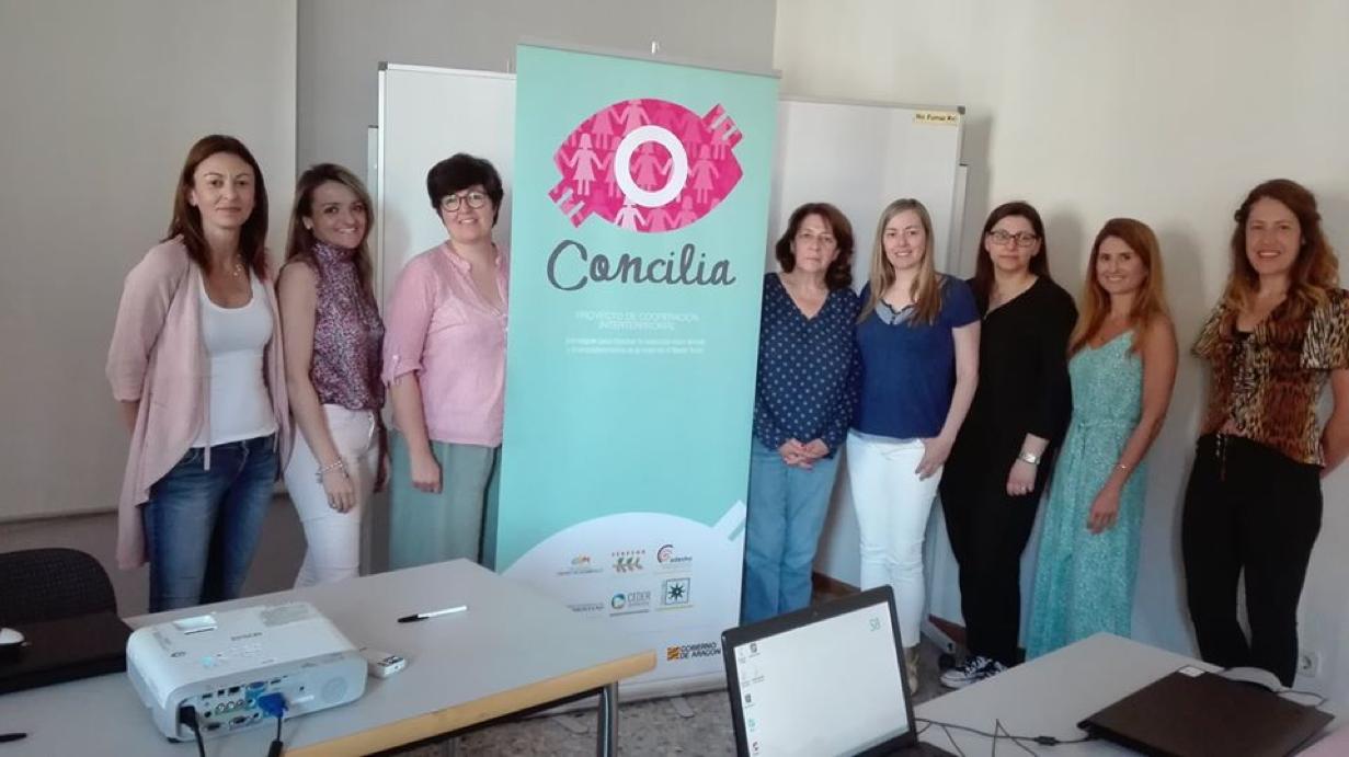Sesión del Proyecto Concilia para emprendedores