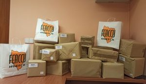 A lo largo de este verano, #FeaccuHuesca ha adquirido 15000 mascarillas FFP2