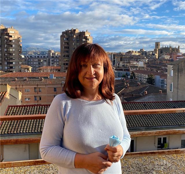 """En este momento estás viendo Trinidad Valdovinos, presidenta de Feaccu Huesca: """"El voluntariado produce bienestar y eso favorece el tener buena cara"""""""